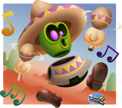 Super Mario NX/Switch - Desert dude! by MarkProductions