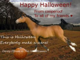 Happy Halloween to my friends on Howrse (: by cooperocf