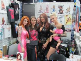 San Diego ComicCon 2012 Booth Babes! by NicoleBrune