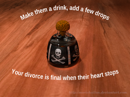 Bottle of poison meme-thing. by Morichalion