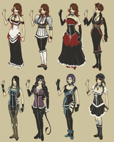 Outfit tests by Amo-Zero