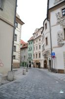 Street in Prague 2 by TigerQG