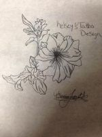 my friend kelsey's tattoo design by forevernotsinking99