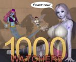 1000 Watchers by shadowblade316