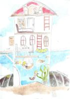 The Home of a Half Mermaids by luckynesu