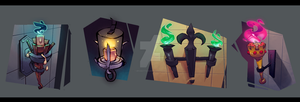 Sconce Assets by DroseAttack