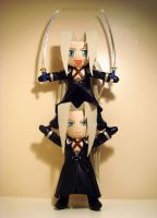 Sephiroth Plushies by Meowchee
