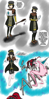 Class Up!  Red Haired Witch? (TG Commission) by Gwyndolin115