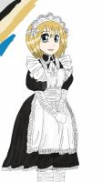 the little maid  by snowdoll567