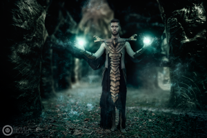 Ancient magic by ErikCosplay