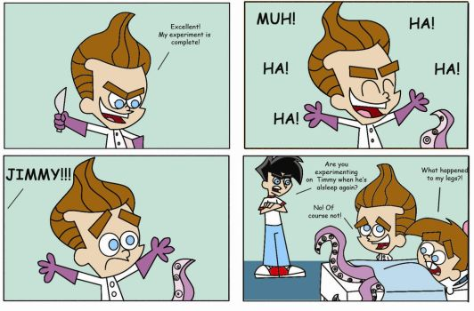 NU Comic: Mad Scientist by dannyfangirl