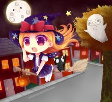 CE Halloween Maggie Witch by Yukipengin