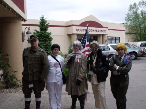 Nobrandcon 2012: Hetalia Group by LilHoneyBat