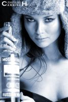 Olga with Vodka by Carnisch
