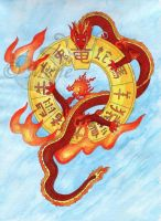 Year of the dragon by mene