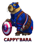 CAPPY'BARA by ghostfire