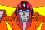 Rodimus Prime by Darknlord91