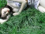 Sleeping In The Grass III by Spannie123