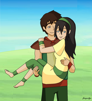 I'll Carry You Toph by Jackie-lyn
