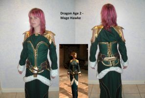 Dragon Age 2 Mage Cosplay by MJDIllusion
