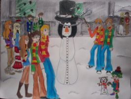 X-mas entry 5. by Coqui-chan by Hogwarts-Castle