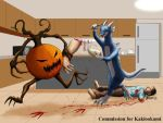 COM : Man Eating Pumpkin and Taylor by whiteguardian