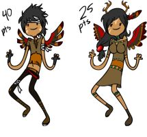 Adventure time Native Ooo Adoptables by Artificially-Zee