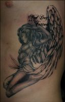 Bretts Angel by Reddogtattoo