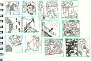storyboard two by illustrationgirl