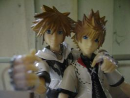 Sora and Roxas, best friends? by lionlancer