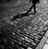 Cobbles and shadows 1 by blink-click