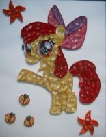 Quilling - Apple Bloom by Sszymon14