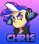 Chris Badge by faster-by-choice