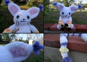 WIP gatomon by YarnHoardingDragon