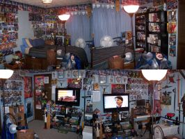 Post-Christmas Room Overview by CaptKyle