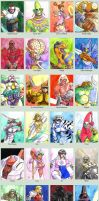 Sketchcard Star Gladiators Plasma Sword Collection by fedde
