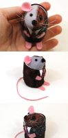 Two Face Mouse by The-House-of-Mouse