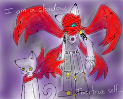 Kou's Shadow Unleashed by VedtheFlameDevil