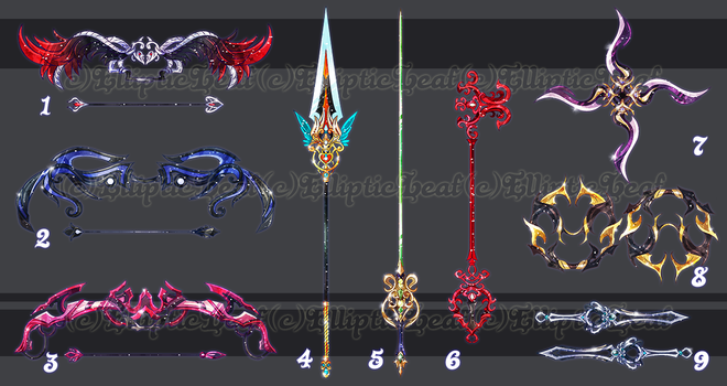 -WeaponAdoptable- LUX 2 ~CLOSED~ by EllipticAdopts