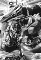 Superman VS. Solomon Grundy by Jansen34