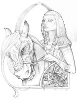 Eowyn of Rohan by littlelea