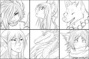 OC Icon Set WIP by Majime