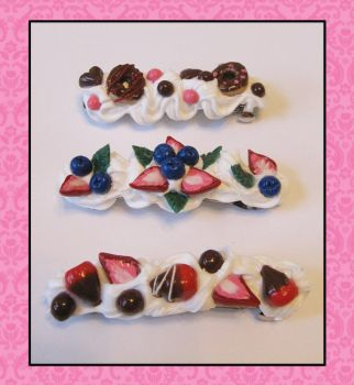 Dessert Barrettes by Afterwinds