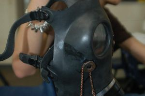 Steam Punk Gas Mask WIP II by Leah-the-Red