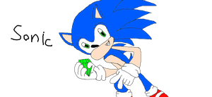 my most best picture of sonic by Eviana1