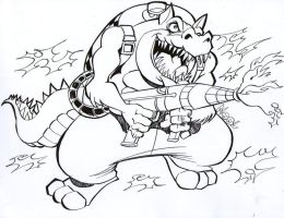 (CO) dingodile by rods3000