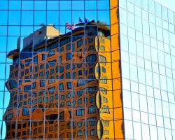 Hotel Reflection by Djohns