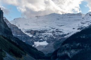 Lake Louise mountain detail by sequential
