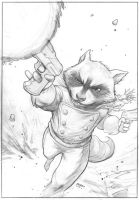 Rocket Raccoon by FlowComa