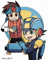 Megaman Battle Network by 4eknight11